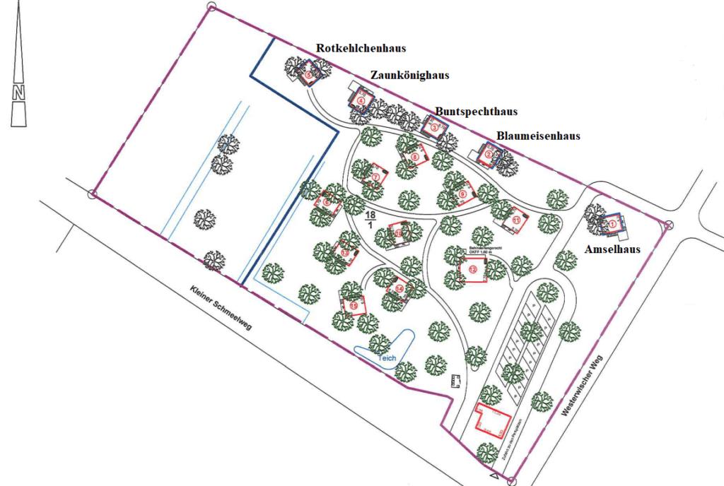 Baumhaushotel Gelände